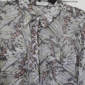 Lovely silk print Equipment Femme blouse